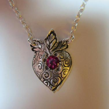 ruby heart